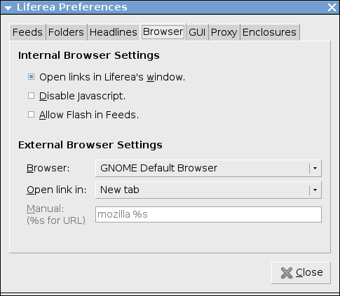 Liferea-1 10-and-Firefox-34-as-External-Browser